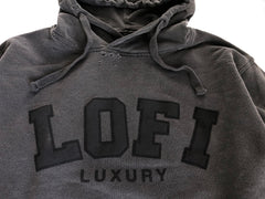 LO-FI LUXURY hood / vintage black