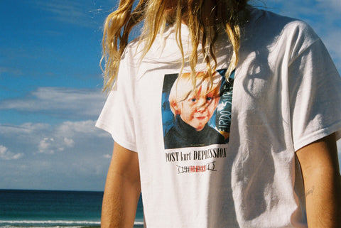 POST KURT DEPRESSION TEE