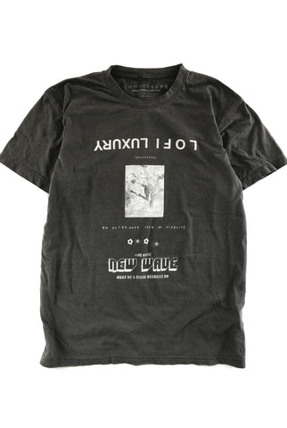 the ALT tee / vintage black