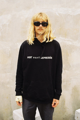 "post surf depression hood ""unisex"""
