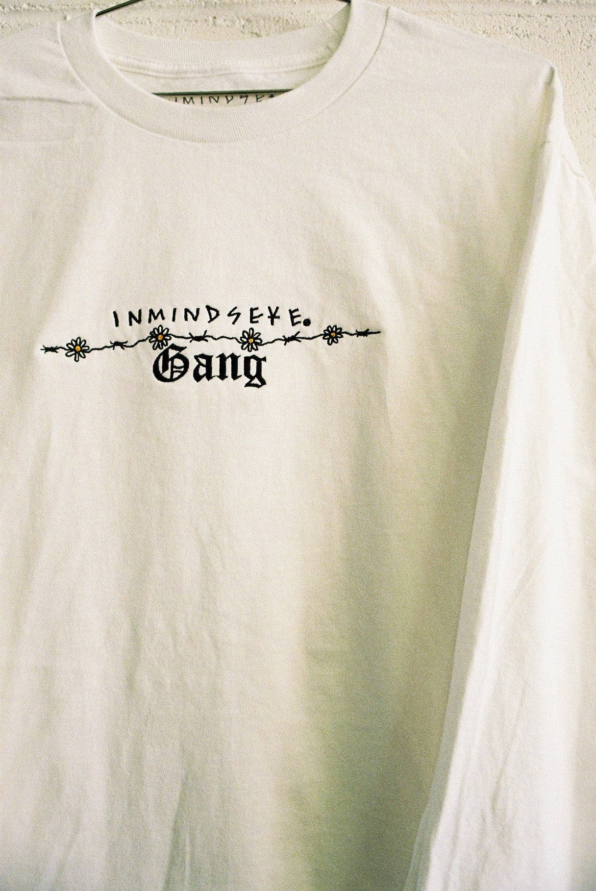 CHAIN GANG L/S tee / white