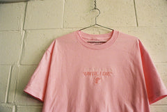 UNTIL I DIE tee / pink