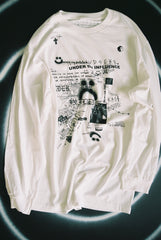 "UNDER the INFLUENCE L/S tee ""white"""