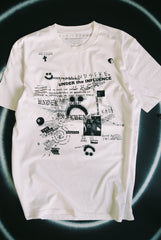"UNDER the INFLUENCE tee ""white"""