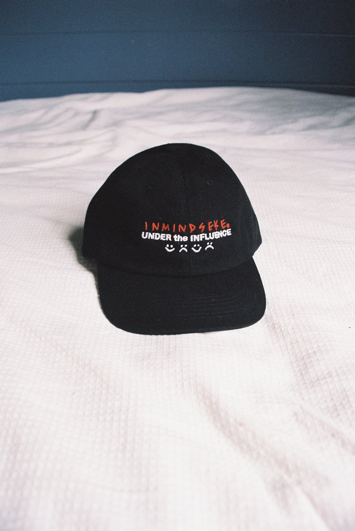 "UNDER the INFLUENCE cap ""black"""