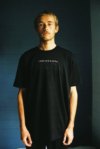 UNTIL I DIE tee / black