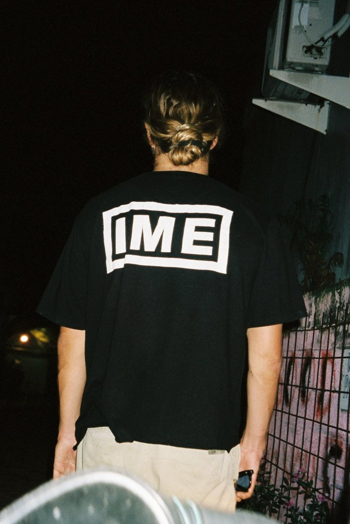 the IME tee / faded black