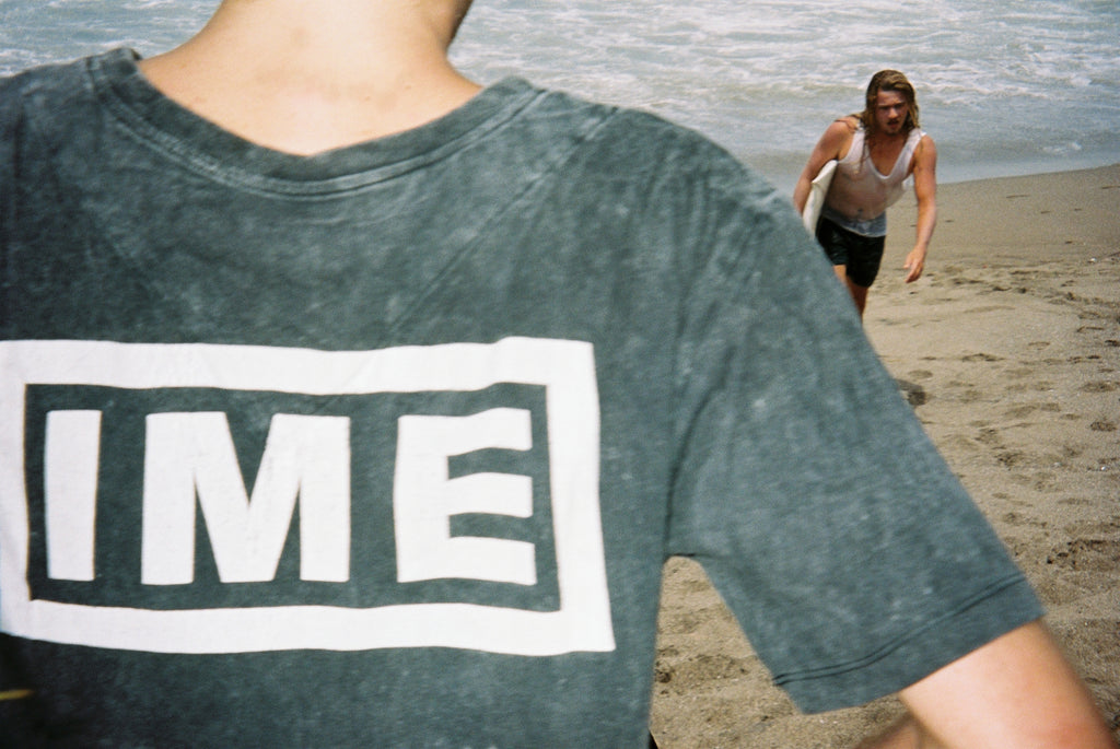 the IME tee / washed black
