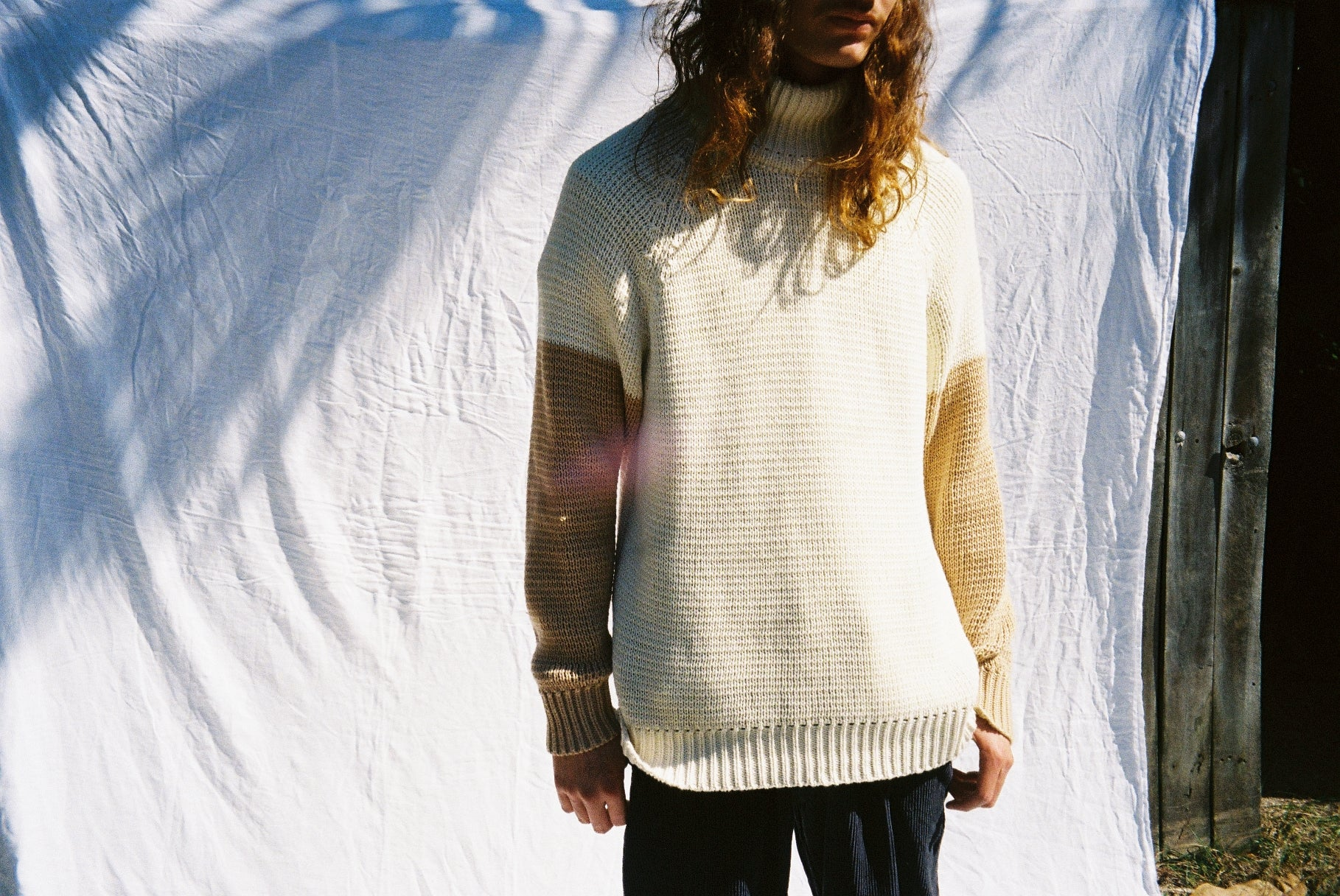 the SABBATH knit / cream