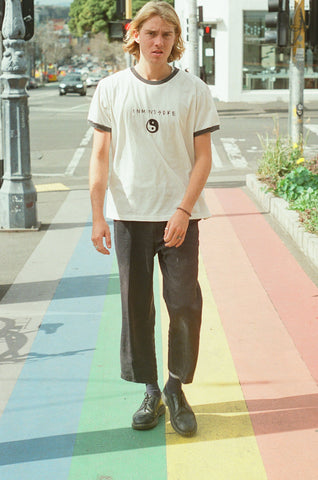 the BALANCE tee / off white