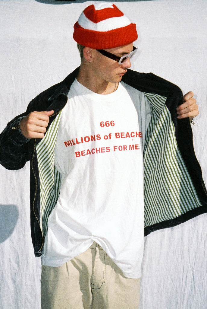 "BEACHES TEE ""OFF WHITE"""