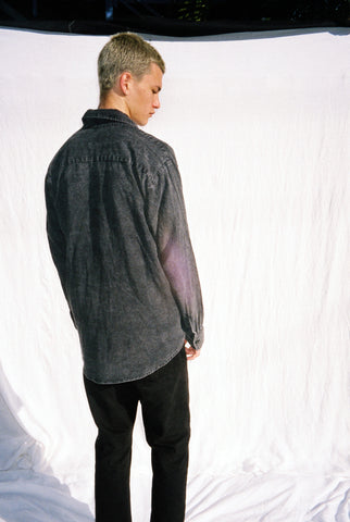 "BLACKHOLE SHIRT / WASHED BLACK ""unisex"""