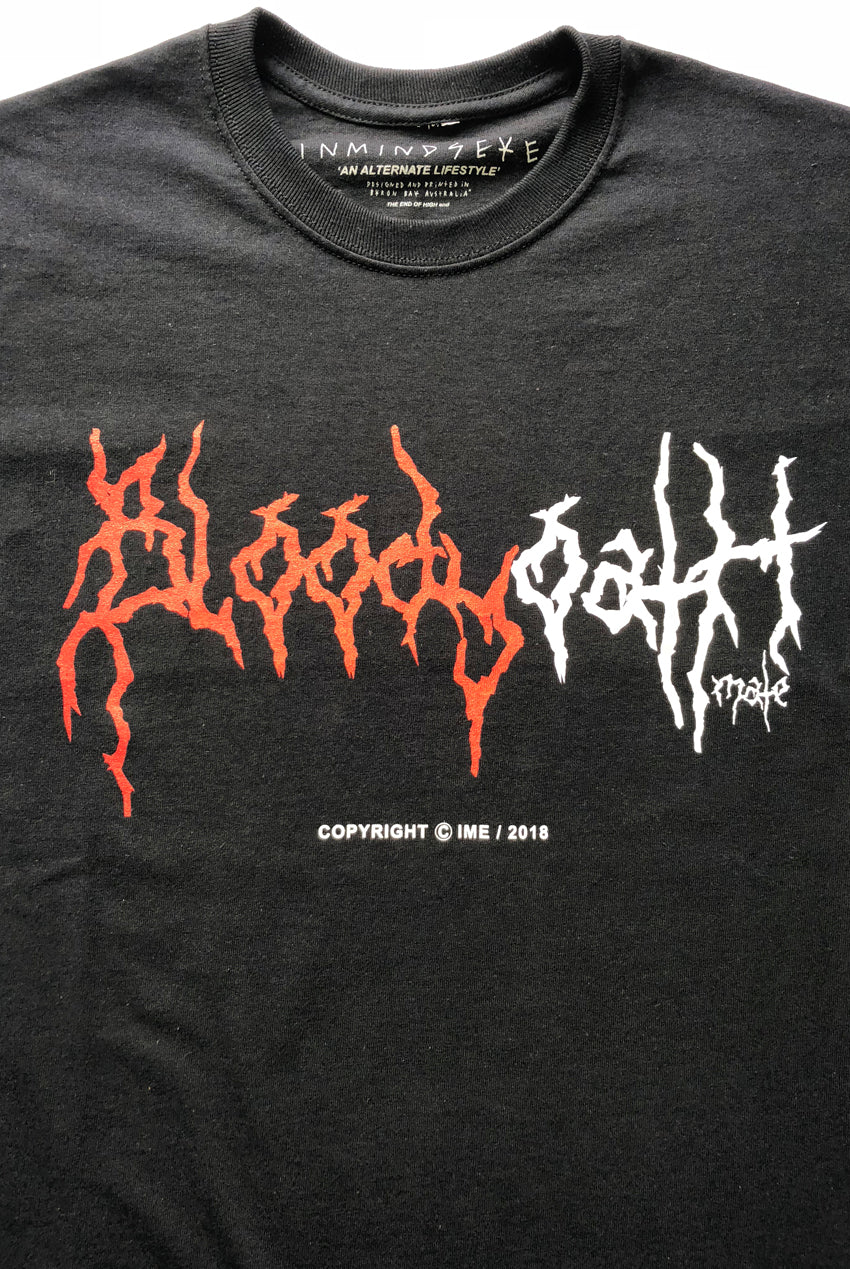 "BLOODY OATH MATE tee ""black"""
