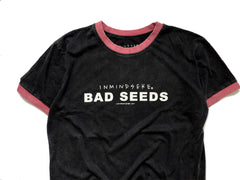 "BAD SEEDS ringer ""washed black"""