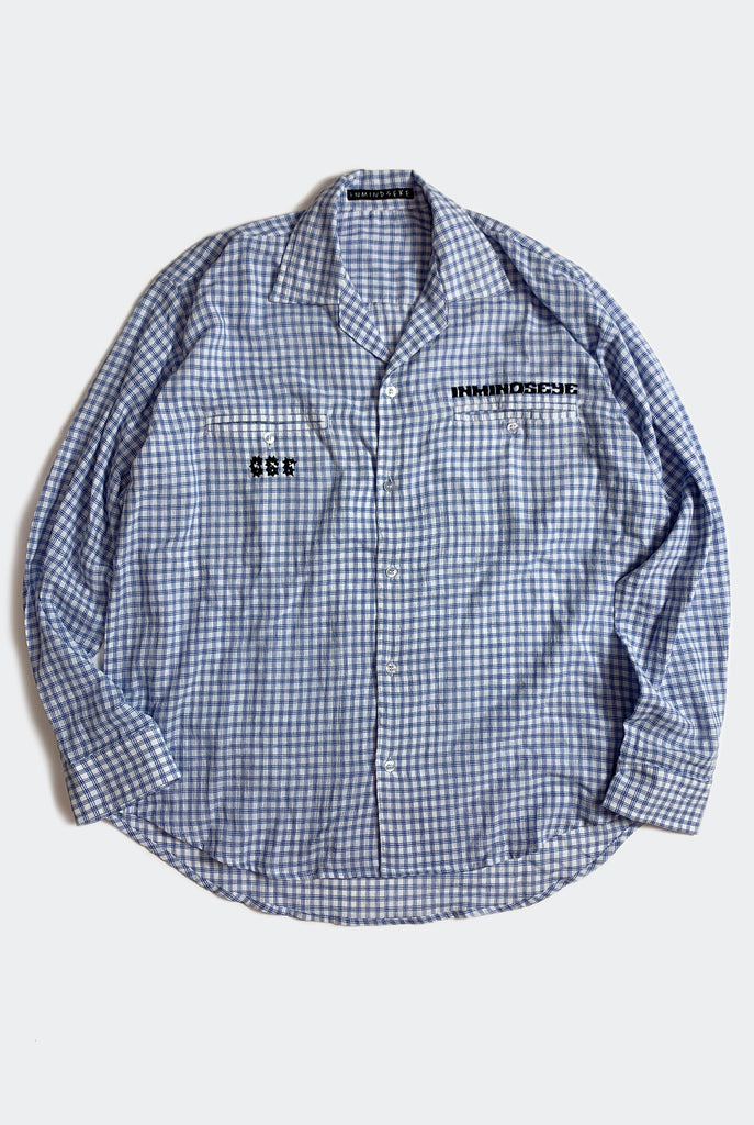 "BAD DAD BOWLO L/S SHIRT / CHECK ""unisex"""