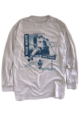 "DEAD RIGHT HAND L/S TEE ""nicotine"""