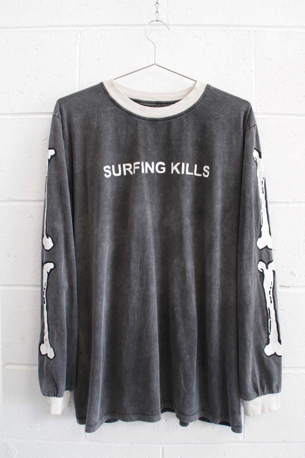 "DEAD SURF tee ""washed black"" unisex"