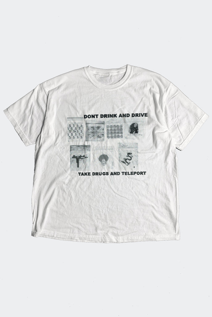 BLOODY IDIOT TEE / WHITE PREORDER