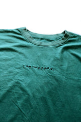 EASY tee / washed out green