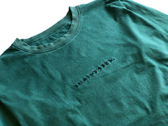 EASY LS tee / washed out green PREORDER