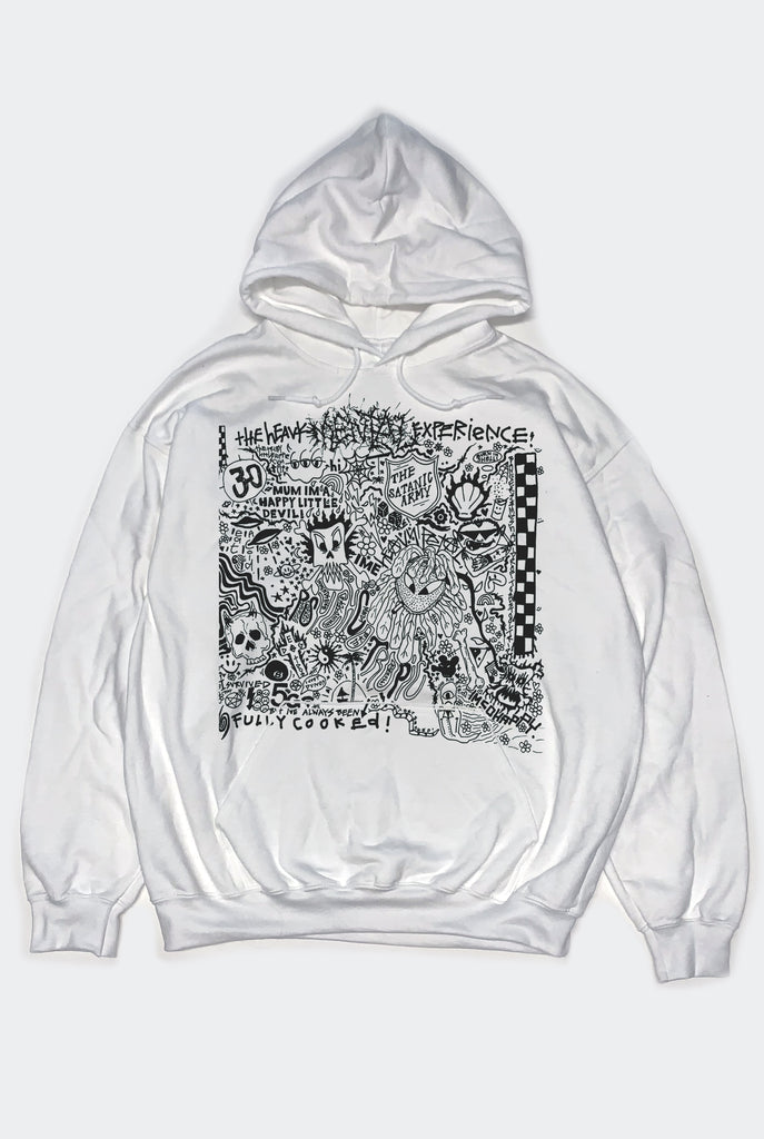 "FULLY COOKED HOOD / WHITE  ""UNISEX"" PREORDER"