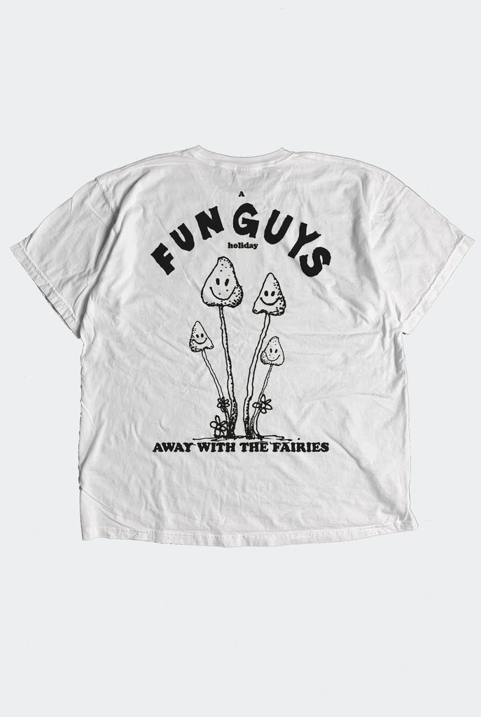 "FUN GUYS TEE / VINTAGE WHITE ""unisex"""