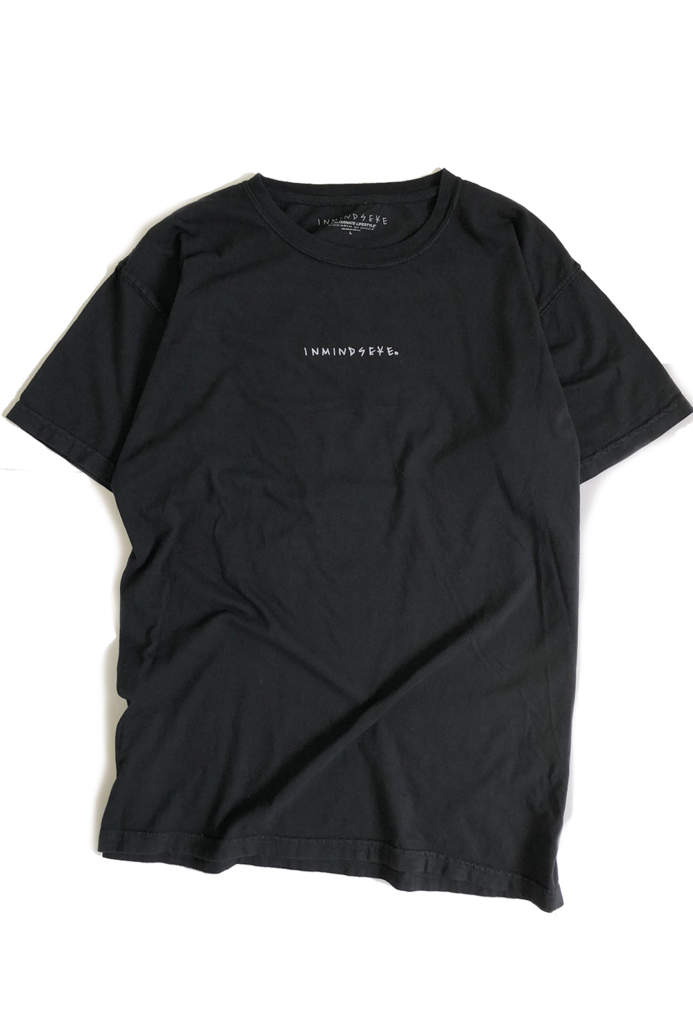 "ALL OF EM tee ""overdyed black"""