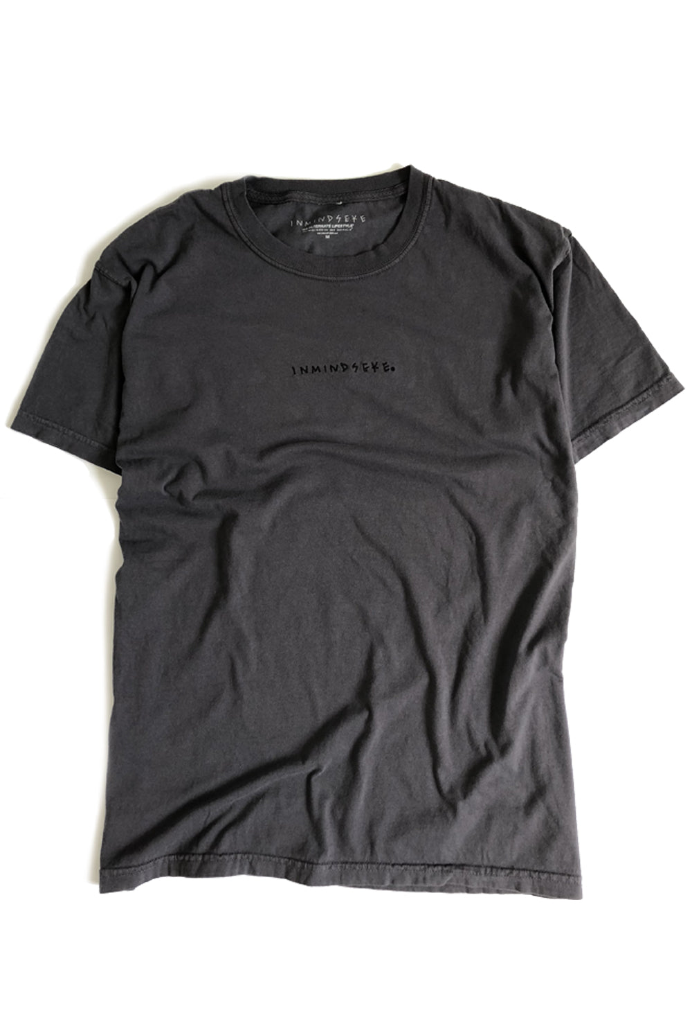 "ALL OF EM tee ""overdyed charcoal"""