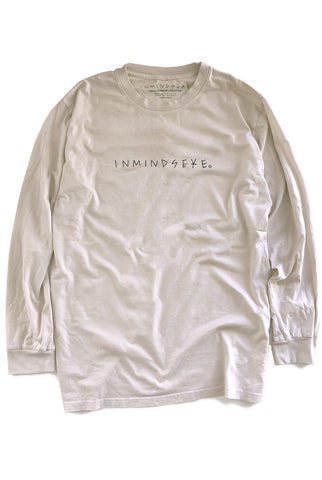 the BRANDED L/S tee / nicotine