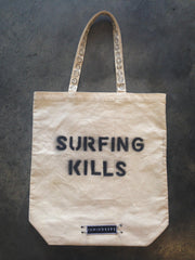 Surfing Kills - Tote Bag