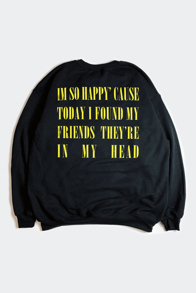 IN MY HEAD SWEATER / BLACK