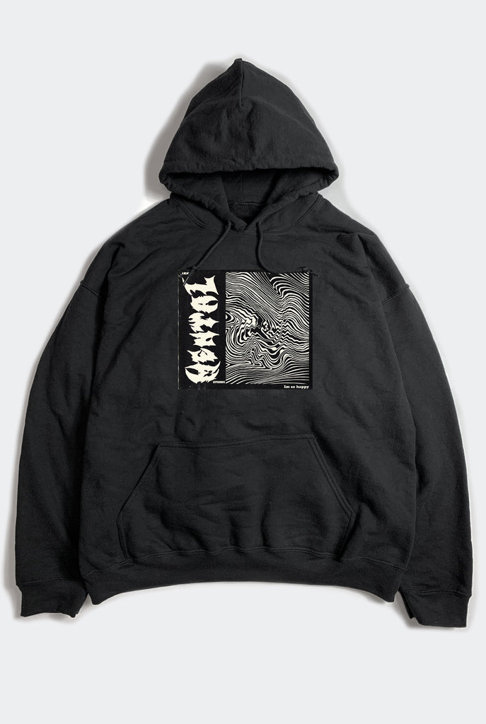 IM ISO HAPPY HOODY / BLACK