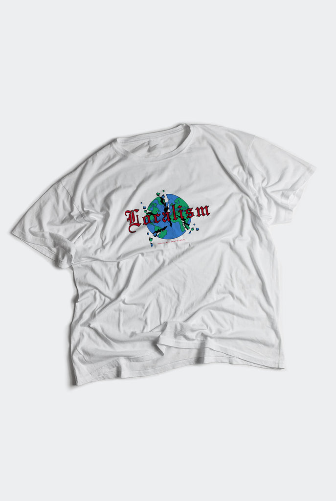 LOCALISM BOX TEE / WHITE PREORDER