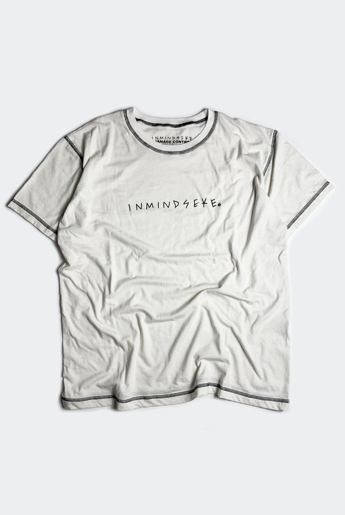"INVERTED LOGO TEE / WHITE ""unisex"""