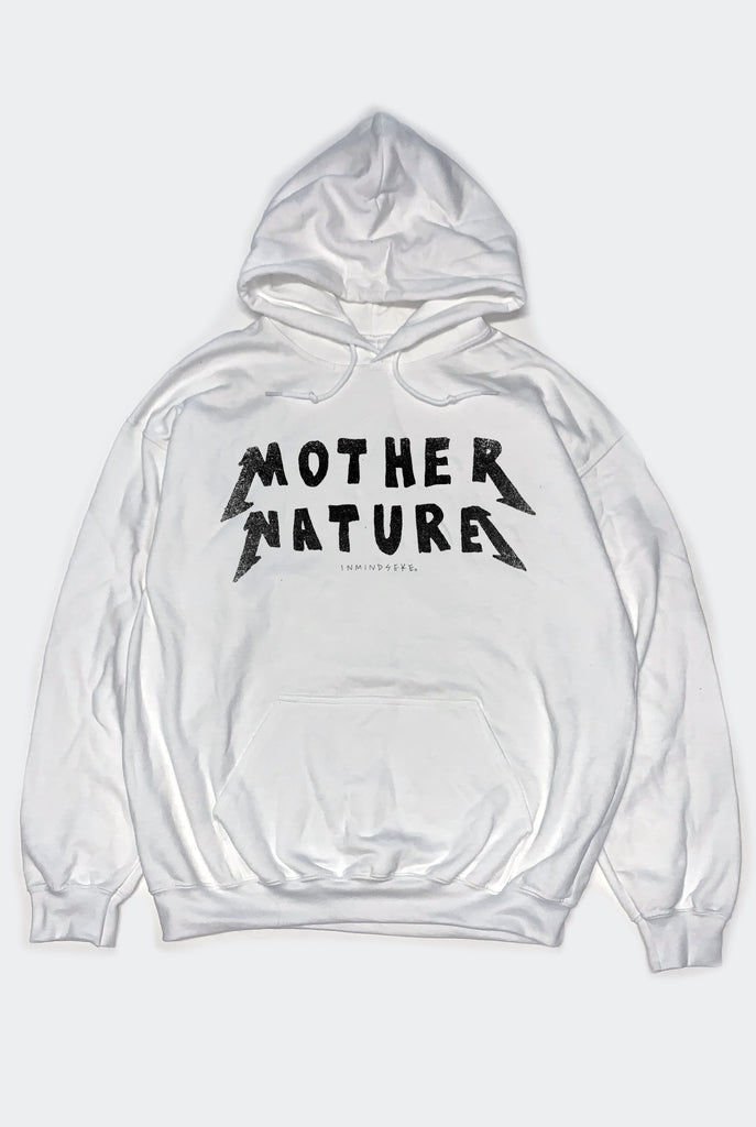 MOTHER NATURE HOODY / WHITE PREORDER