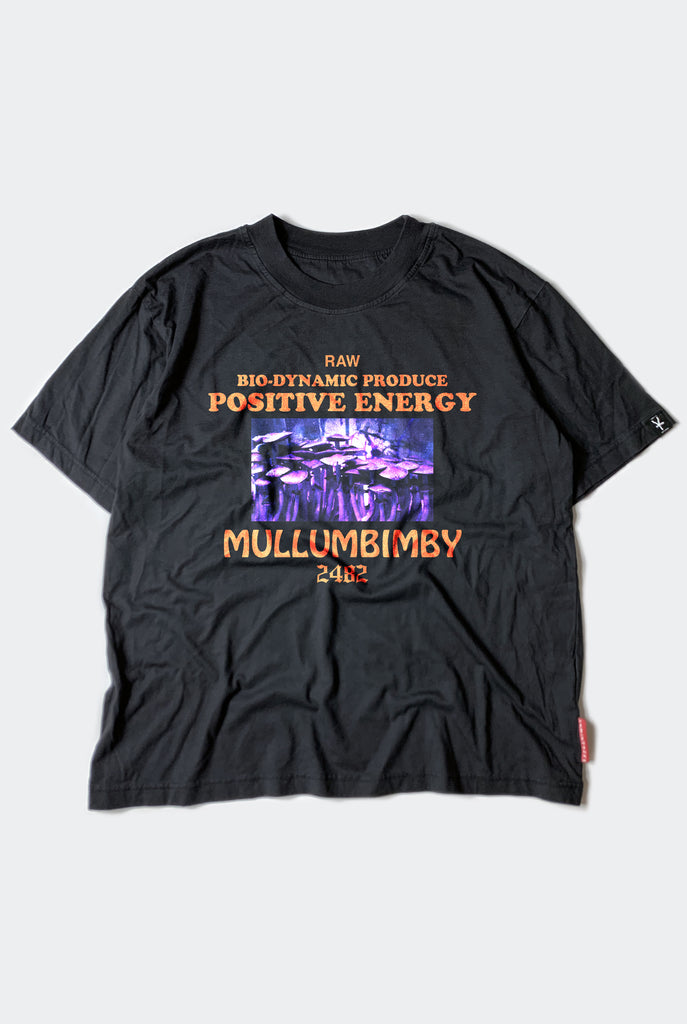MULLUM MADNESS TEE  / FADED BLACK PREORDER