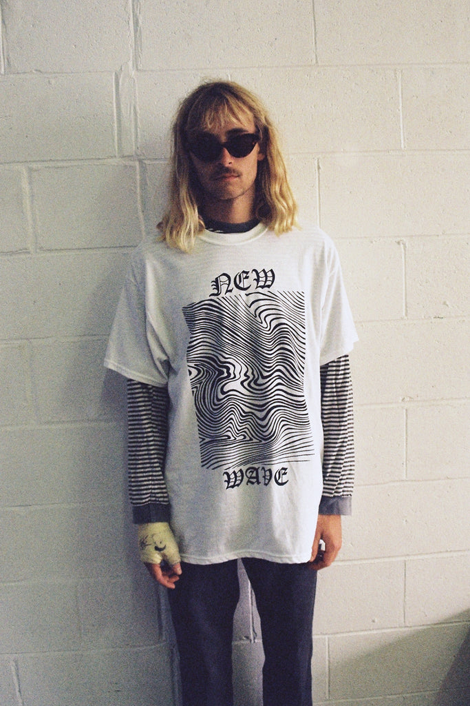 NEW WAVE TEE / WHITE PREORDER