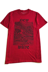 "Neo WAVE tee ""red"""