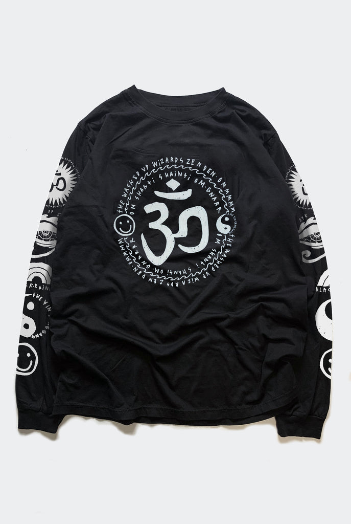 "OM MY GOD TEE / BLACK ""UNISEX"""