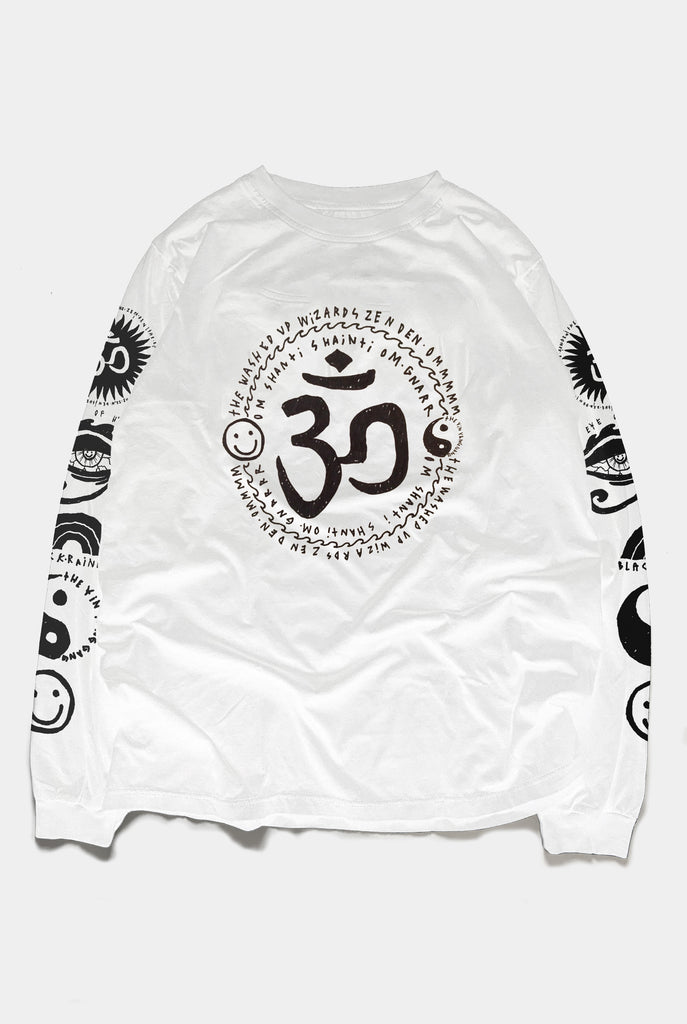 "OM MY GOD TEE / WHITE ""UNISEX"" PREORDER"