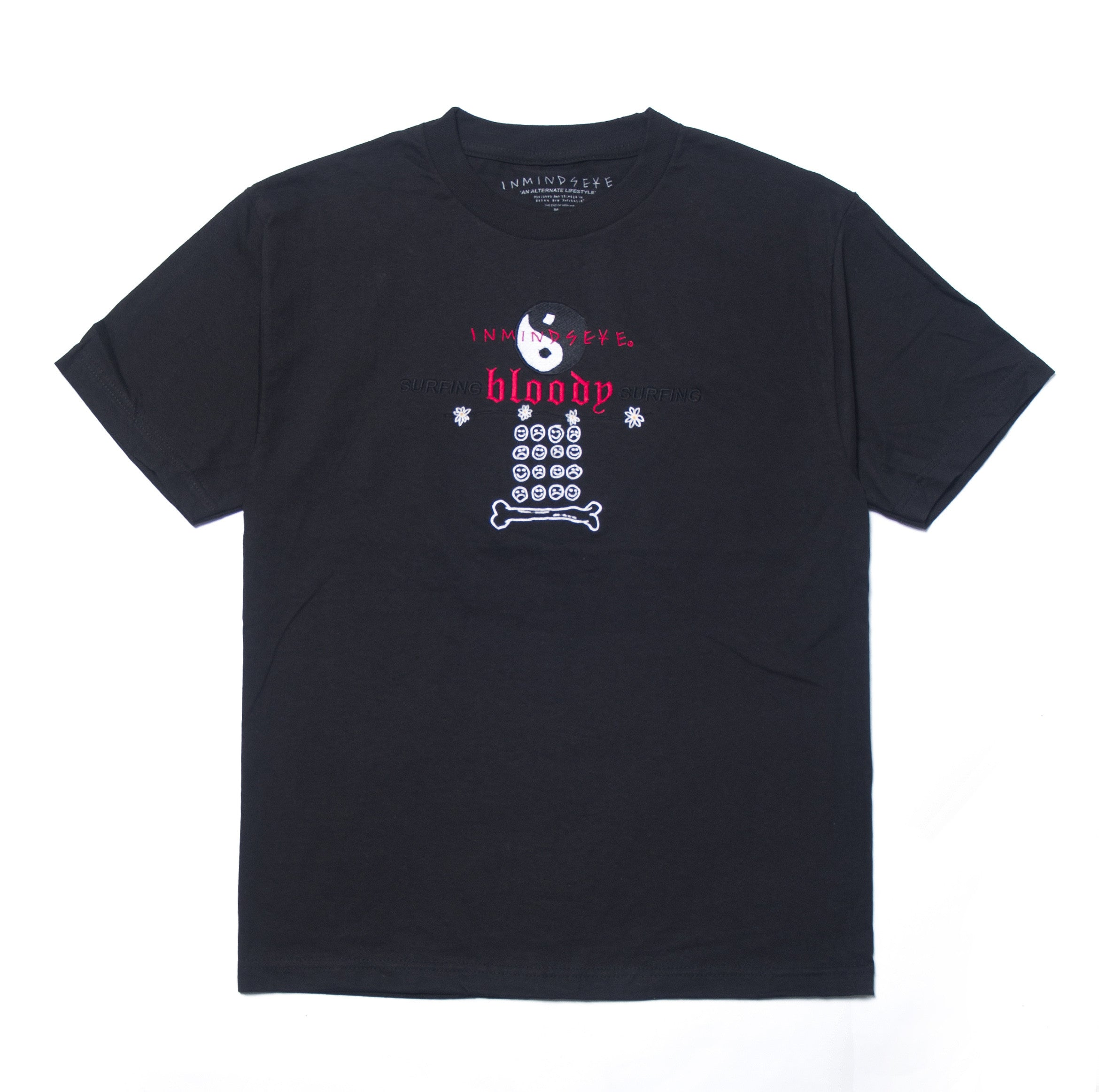 SURFING BLOODY SURFING tee / black