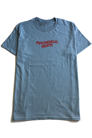 "PSYCHEDELIC DEATH tee ""stone"""