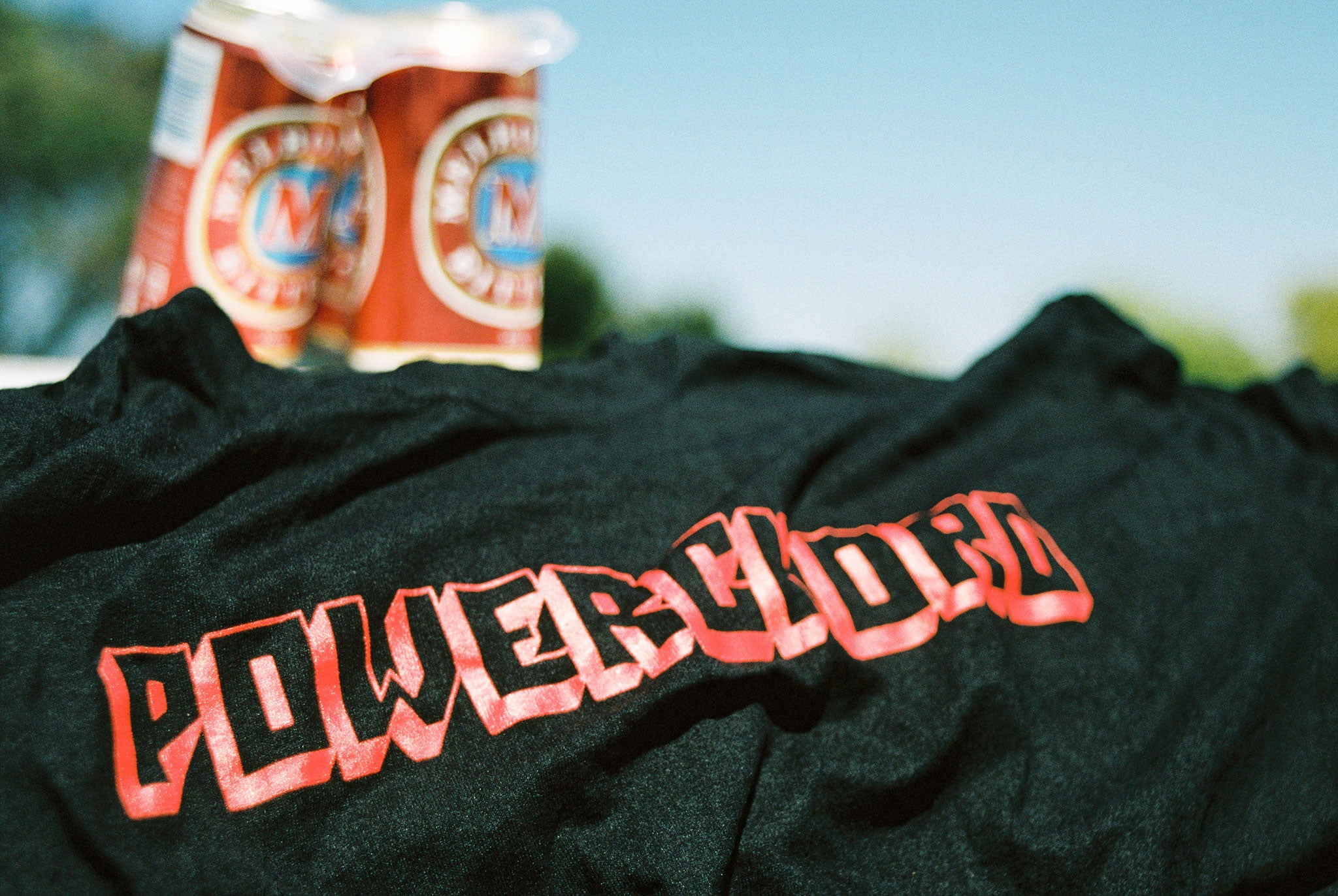 "POWERCHORD TEE ""BLACK"""