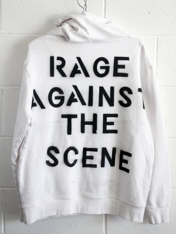 RAGE AGAINST THE SCENE HOOD / custom hoody 1 of 1