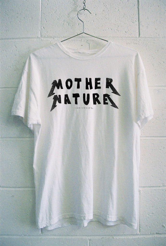 "RECYCLED MOTHER NATURE TEE / PREORDER ""WOMENS"""