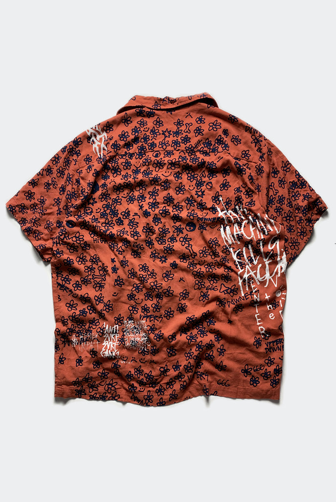 "UPPERS BOWLO SHIRT / RED ""unisex"" PREORDER"