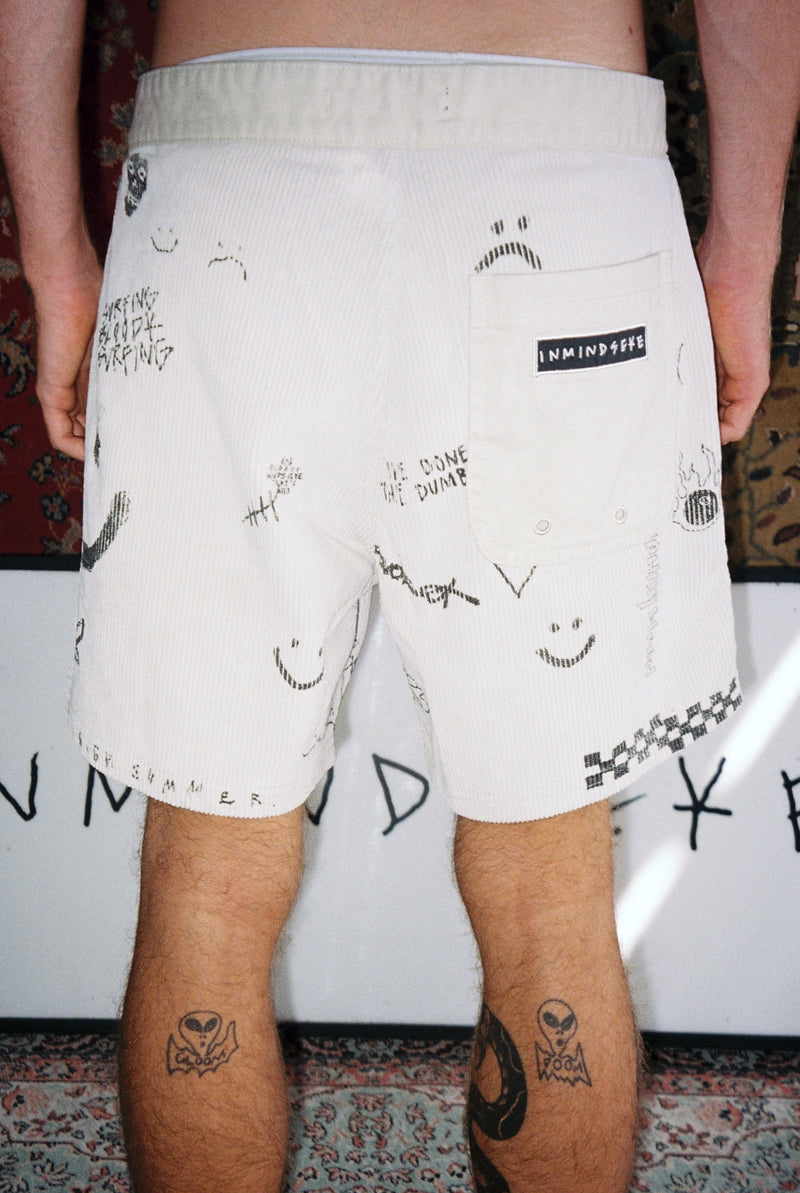 "SIGNATURE SHORT ""BLEACH"""