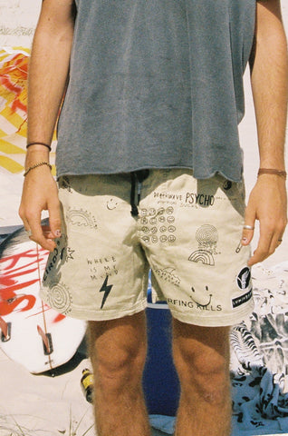 "the SKETCHY trunk ""washed tan"" PREORDER"
