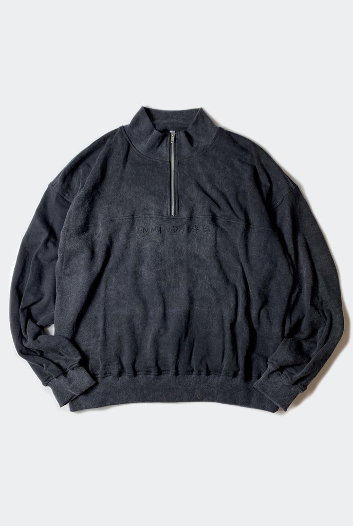 SLOBBY JOE SWEATER / WASHED BLACK PREORDER