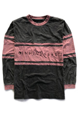 IME STRIPE 2.0 tee / vintage red